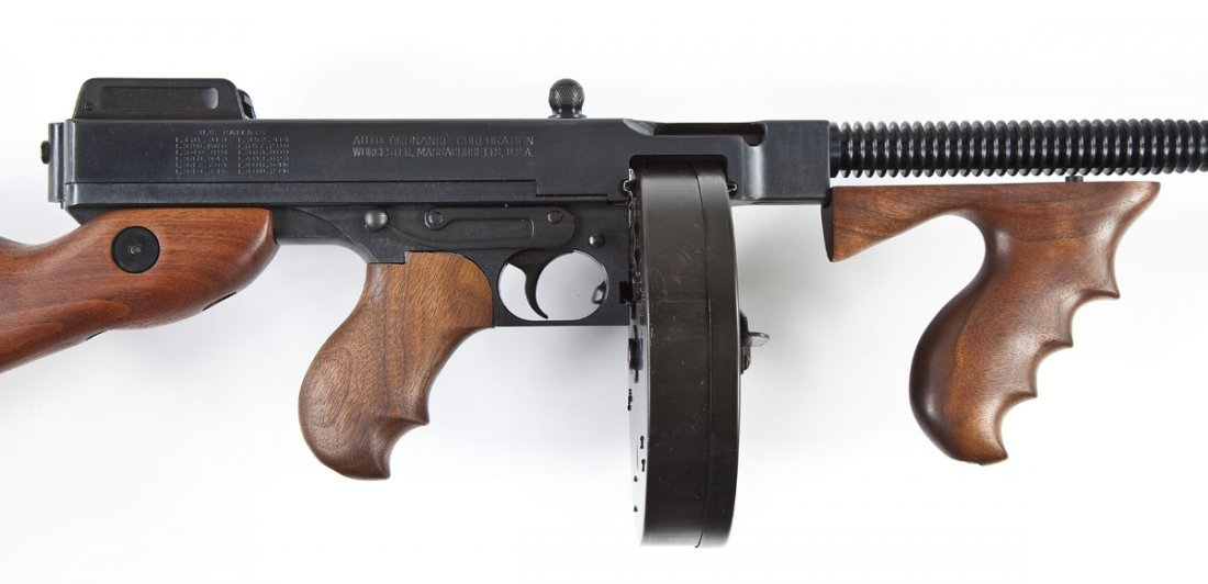 66: Auto Ordinance Model of 1927 A1 Carbine - .45 Acp
