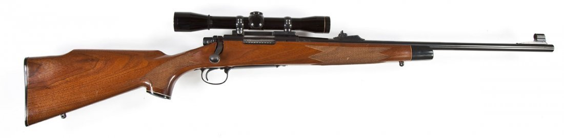 89: Remington Model 700 BDL Rifle - 6MM Caliber - 2