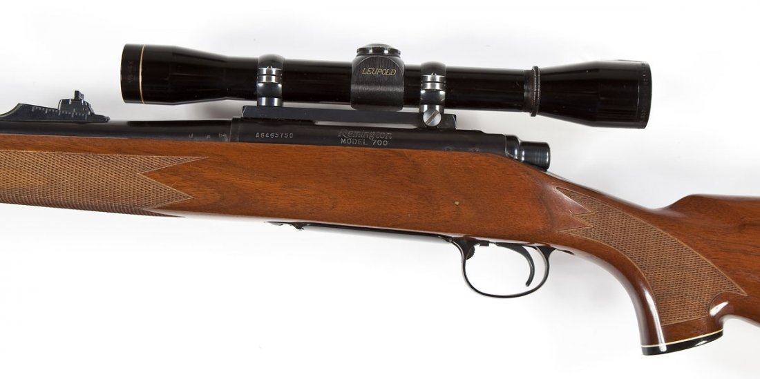 89: Remington Model 700 BDL Rifle - 6MM Caliber - 3