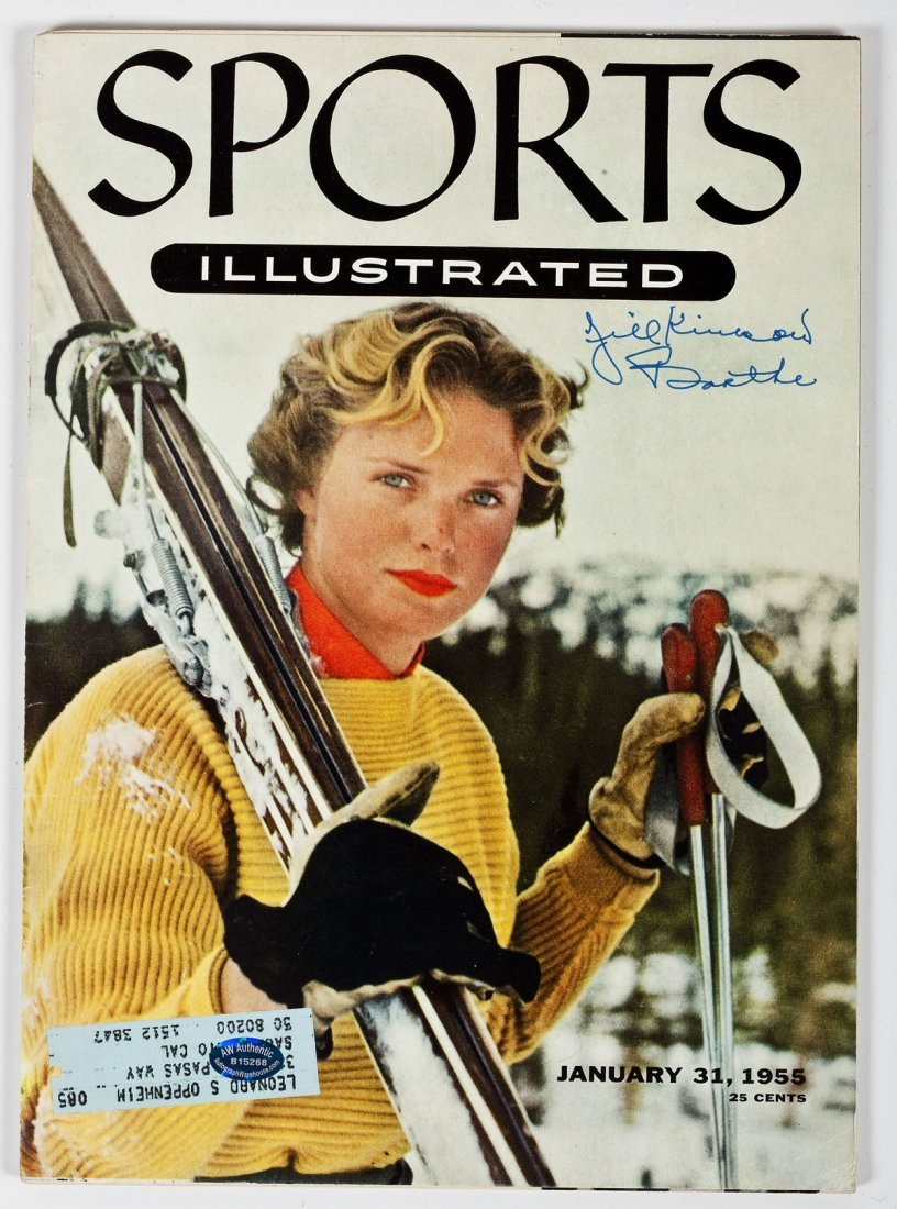 16: 1955 Jill Kinmont Autographed Sports Illustrated