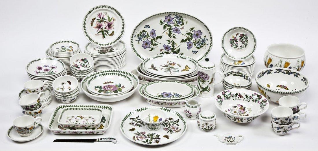 375: Portmeirion Botanic Garden 100 Pc Porcelain Set