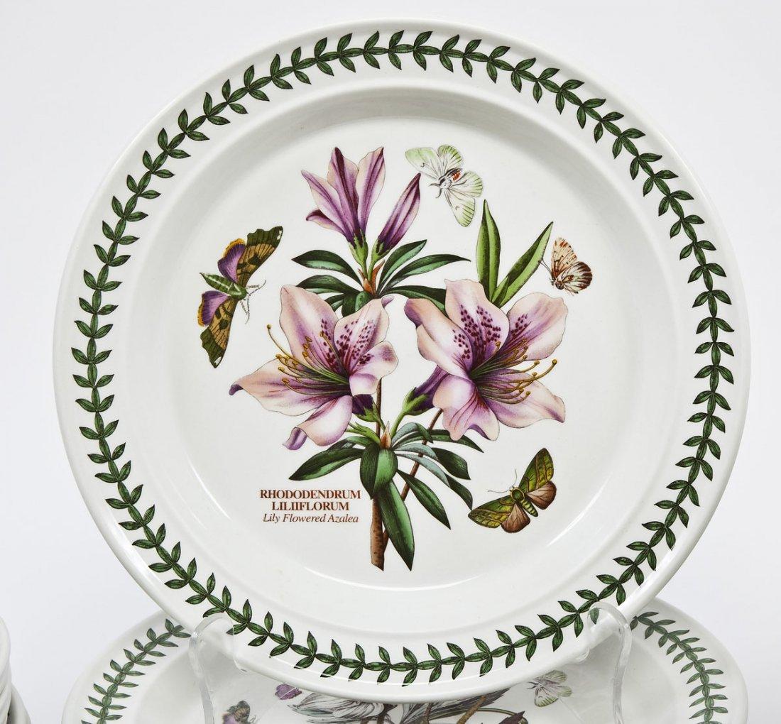 375: Portmeirion Botanic Garden 100 Pc Porcelain Set - 2