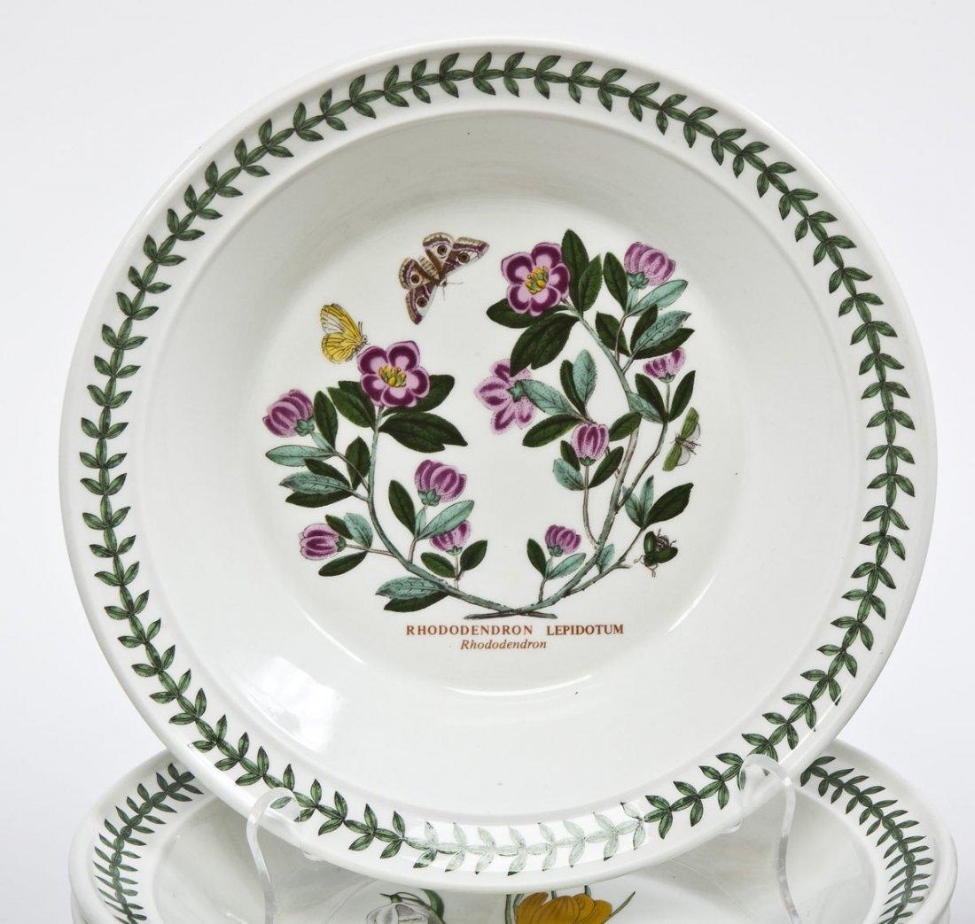 375: Portmeirion Botanic Garden 100 Pc Porcelain Set - 3