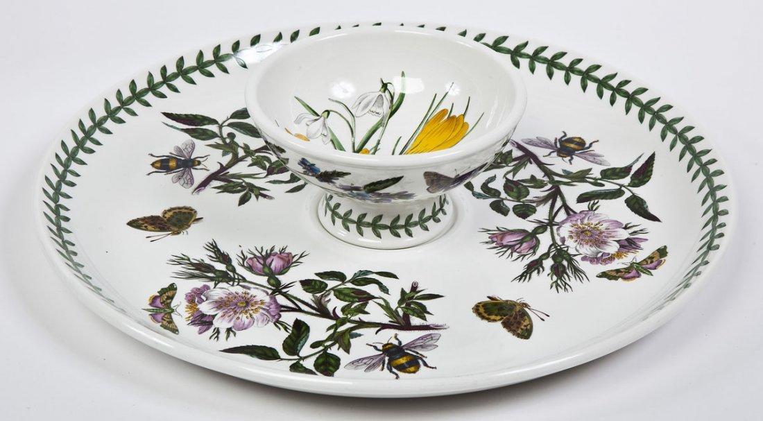 375: Portmeirion Botanic Garden 100 Pc Porcelain Set - 8