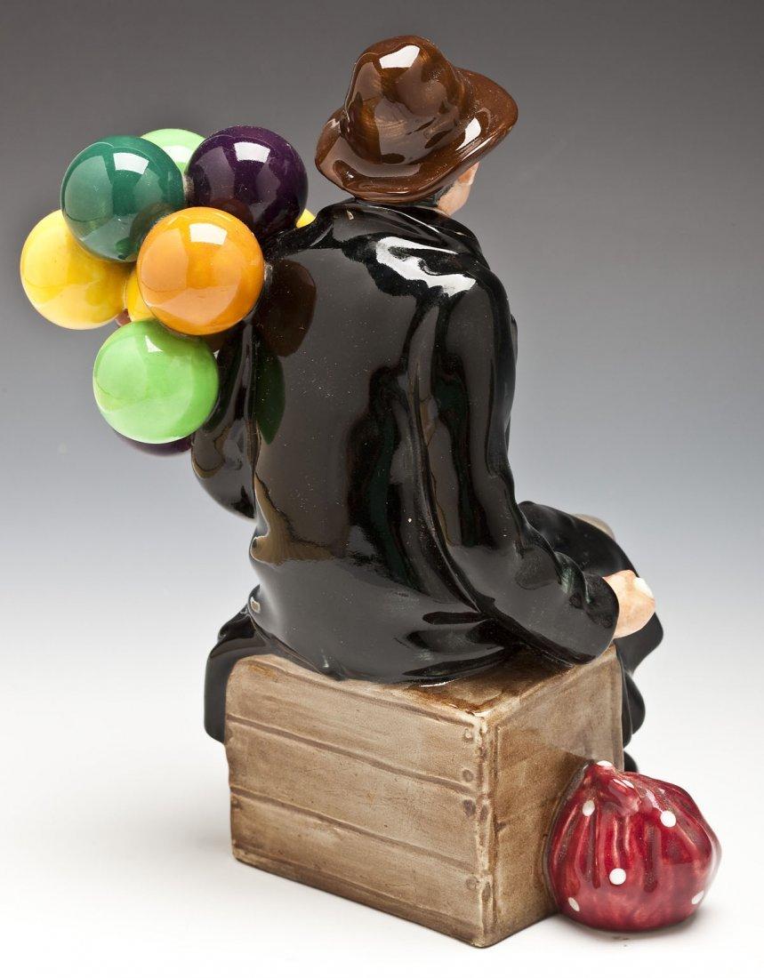 376: Royal Doulton Balloon Man & Balloon Seller Figures - 3