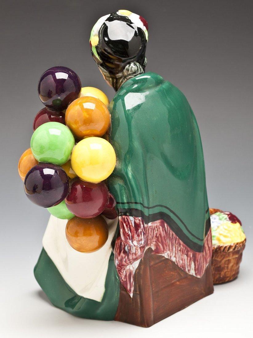 376: Royal Doulton Balloon Man & Balloon Seller Figures - 7