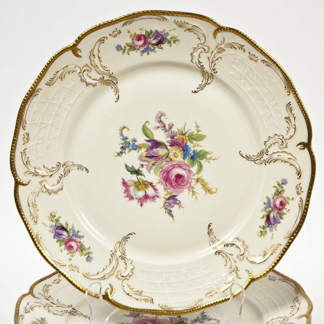 389: Rosenthal 74 Pc Sanssouci Rose Dinner Set - 3