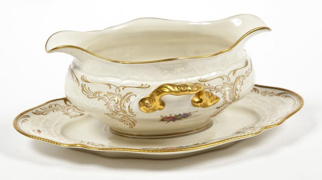 389: Rosenthal 74 Pc Sanssouci Rose Dinner Set - 4