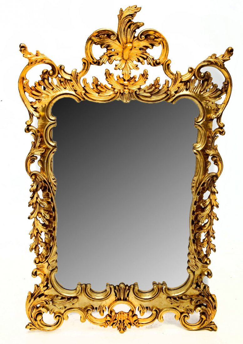 457: Large Gilded Mirror