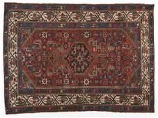 522: Semi-Antique Persian Area Rug