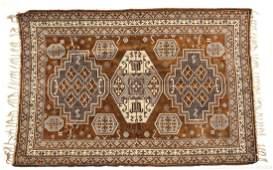 533 SemiAntique Persian Kazak Area Rug