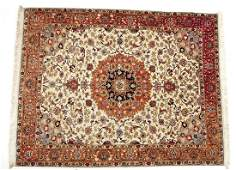 540 SemiAntique Persian Kerman Area Rug