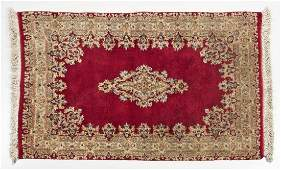 543 SemiAntique Persian Kerman Area Rug