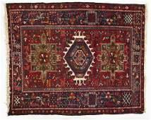 Semi-Antique Persian Heriz Area Rug