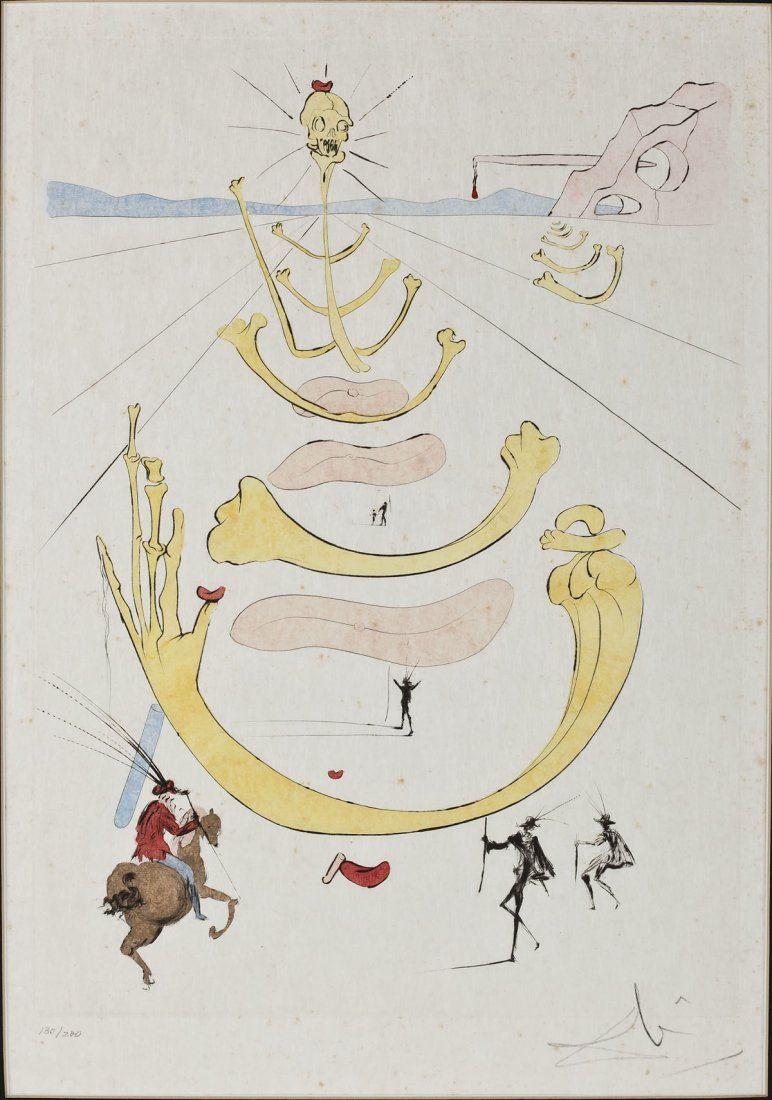762: Salvador Dali (Spanish, 1904-1989)