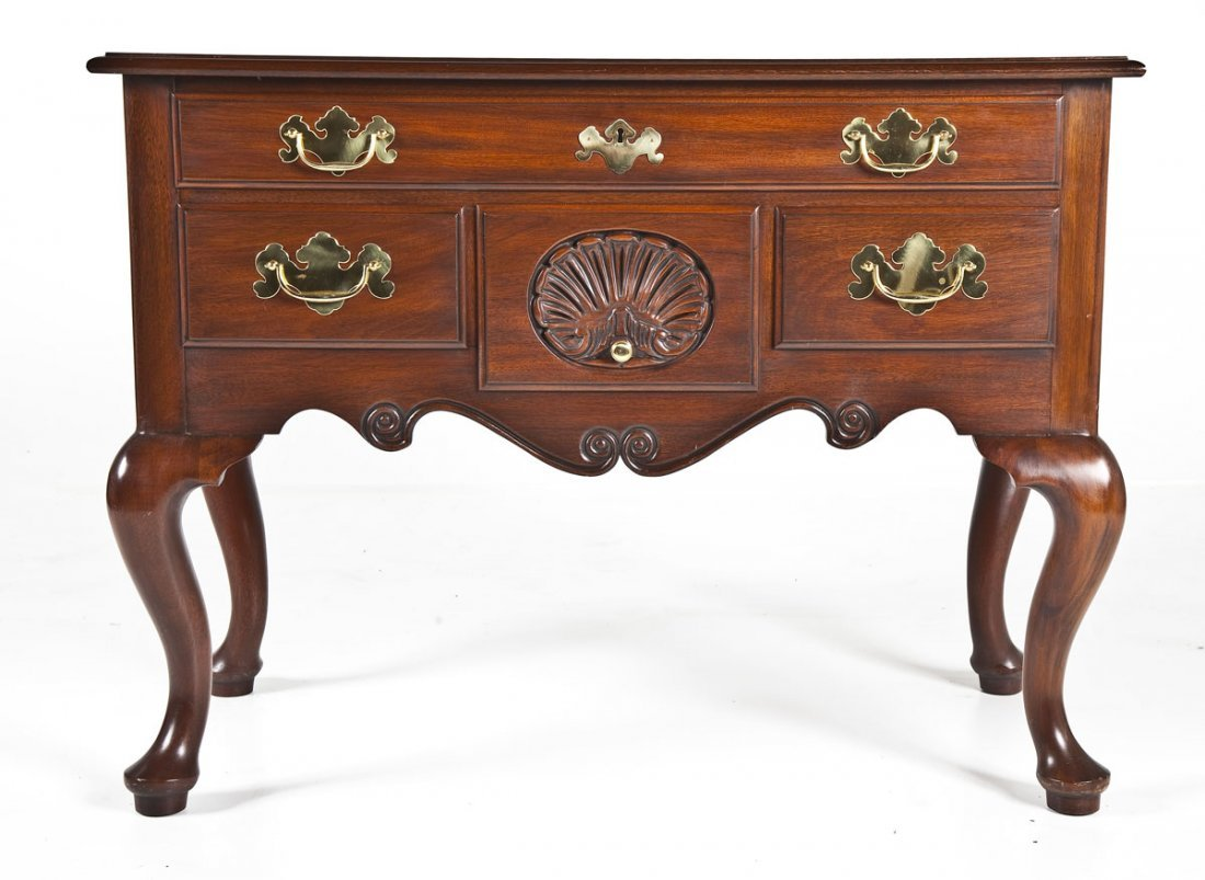 456A: Henkel Harris Chippendale Style Chest
