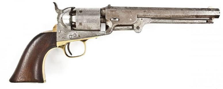Civil War Soldier Inscribed Colt Model 1851 Navy