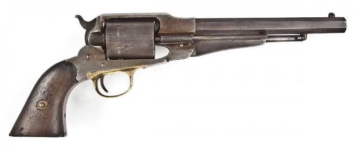6: S.E. Stilwell Inscribed Remington Army Conversion