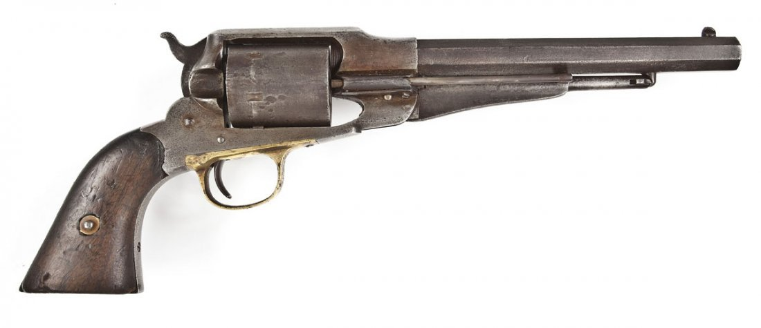 6: S.E. Stilwell Inscribed Remington Army Conversion