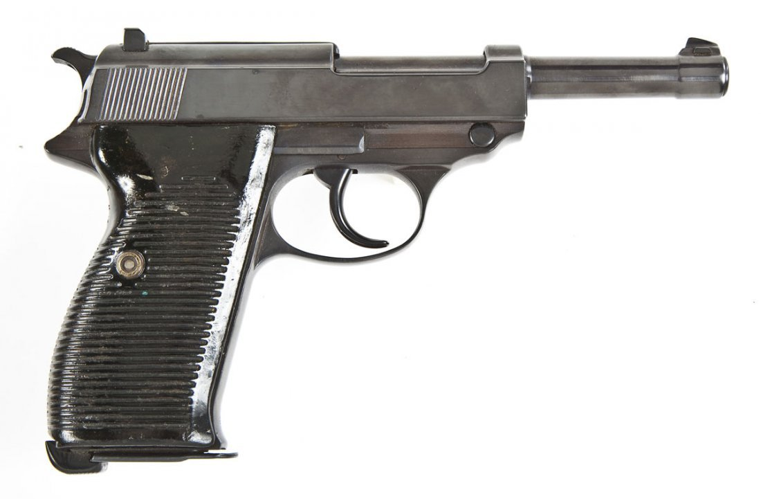 11: German BYF P-38 pistol - 9mm Cal.