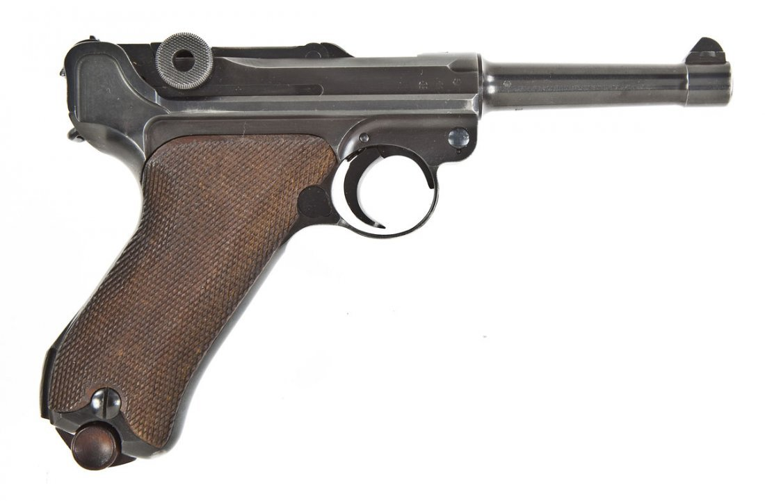 13: German Luger P-08 Pistol - 9mm Cal.