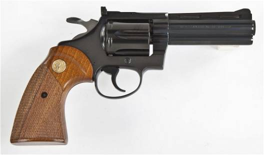 "Colt DiamondBack 4"" Revolver - .22 Cal."