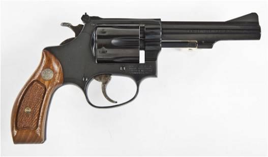 S&W M-34 Revolver - .22 Cal.