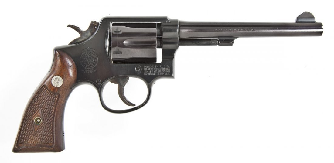 24: Smith & Wesson Model 10 Revolver - .38 Spl.