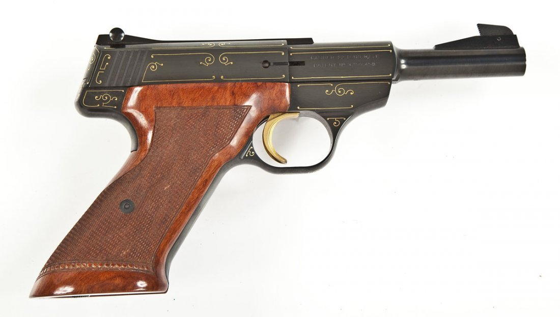 53: Browning Challenger Gold Line Pistol - .22 Cal.