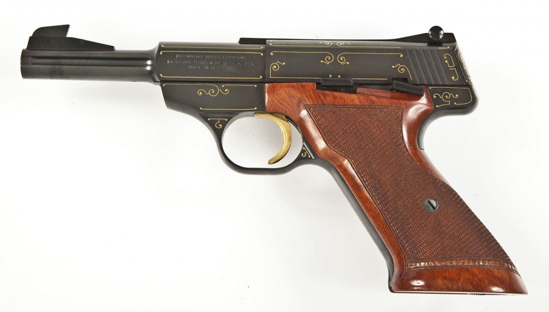 53: Browning Challenger Gold Line Pistol - .22 Cal. - 2