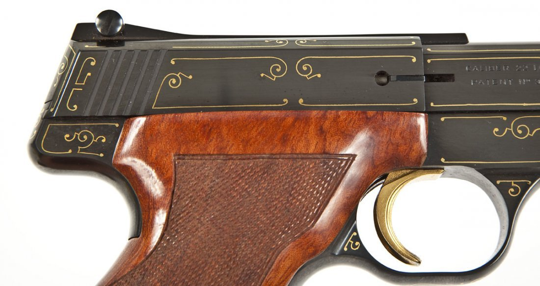 53: Browning Challenger Gold Line Pistol - .22 Cal. - 4