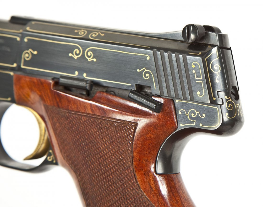 53: Browning Challenger Gold Line Pistol - .22 Cal. - 5