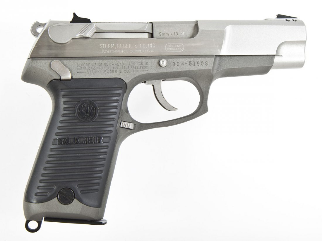 95: Ruger P89DC Pistol - 9mm Cal.