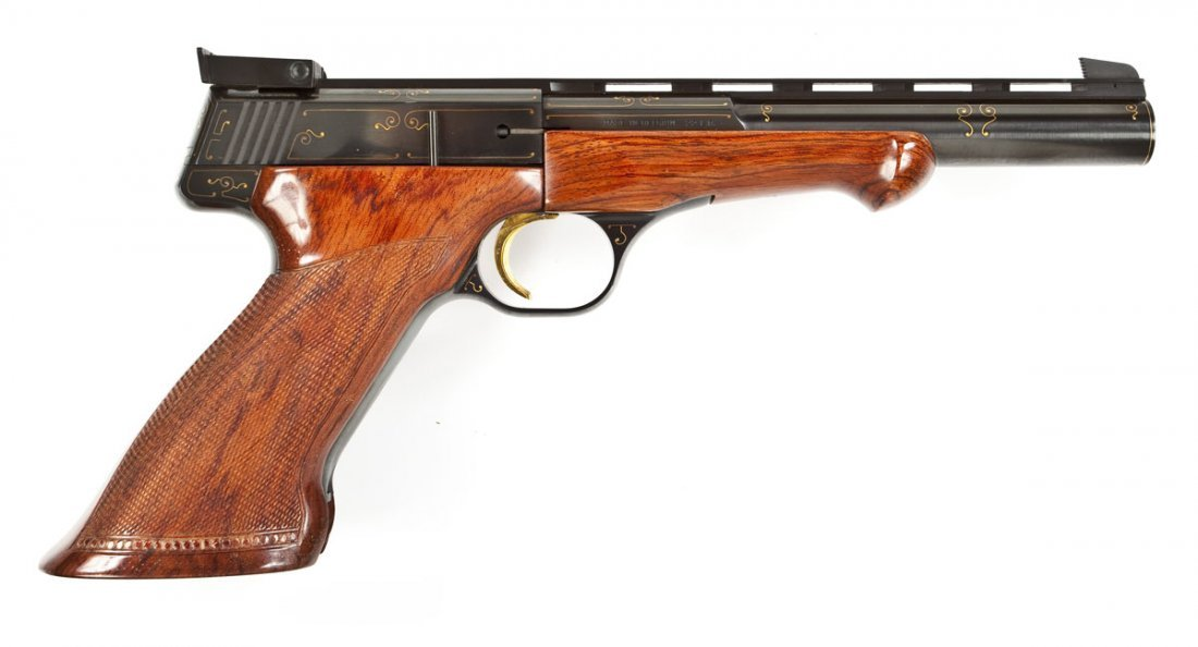 108: Browning Challenger Gold Line Pistol - .22 Cal.
