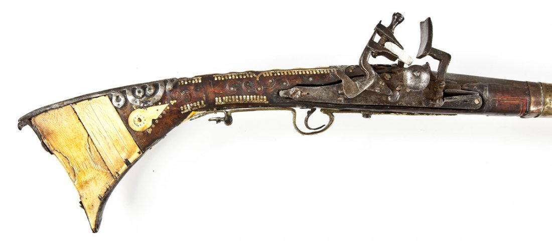 124: North African Snaphaunce Musket - .60 Cal.