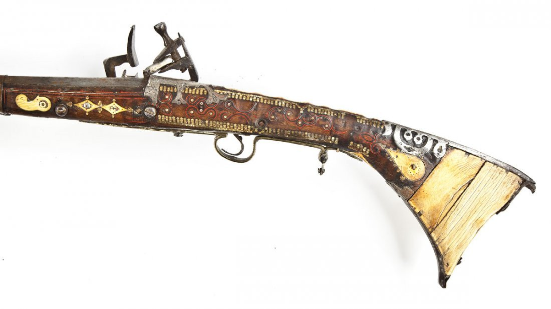124: North African Snaphaunce Musket - .60 Cal. - 4