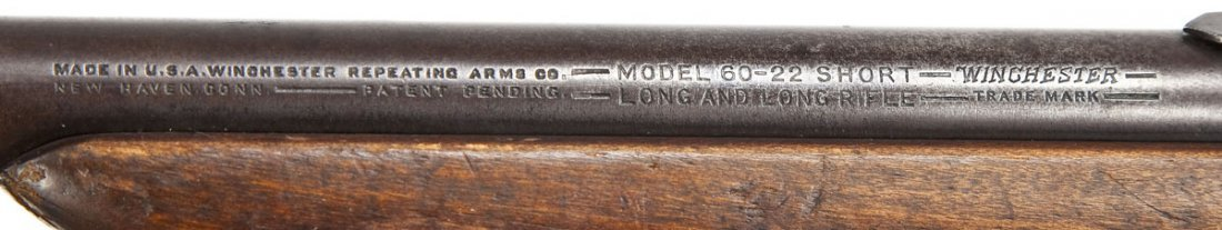 160: Winchester Model 60 Rifle - .22 Cal. - 5