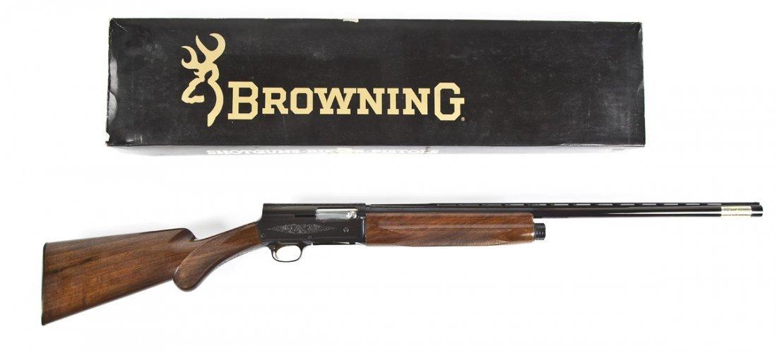 224: Browning Grade I Auto-5 Sweet 16 Shotgun - 12 Ga. - 5