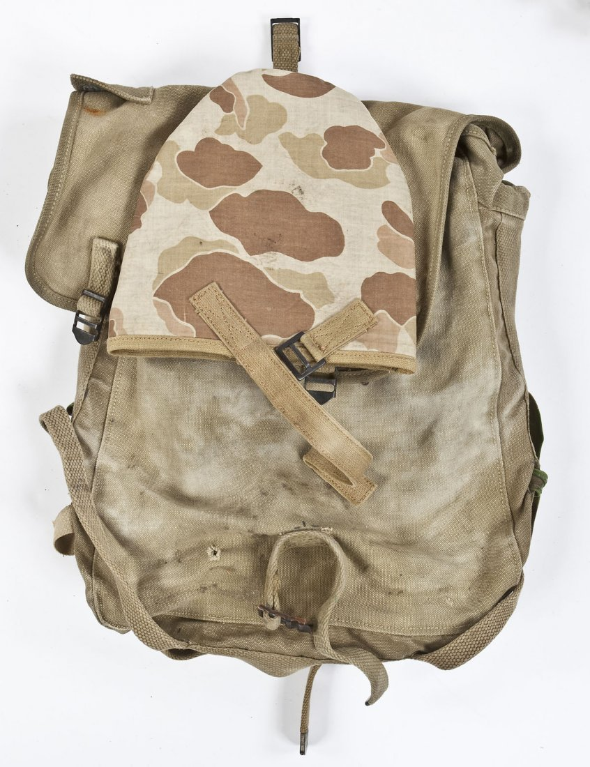 268: WWII Era USMC Backpack - 10