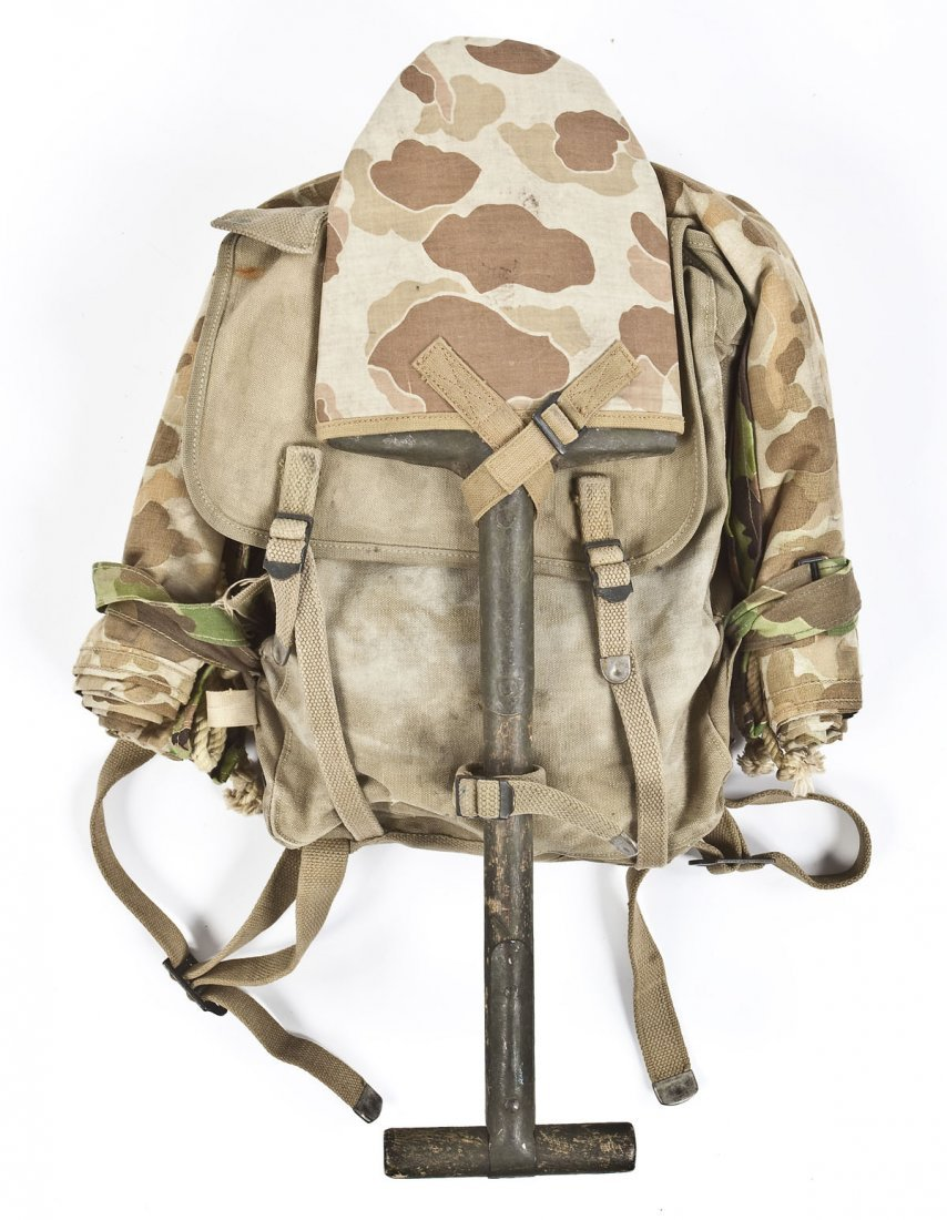 268: WWII Era USMC Backpack