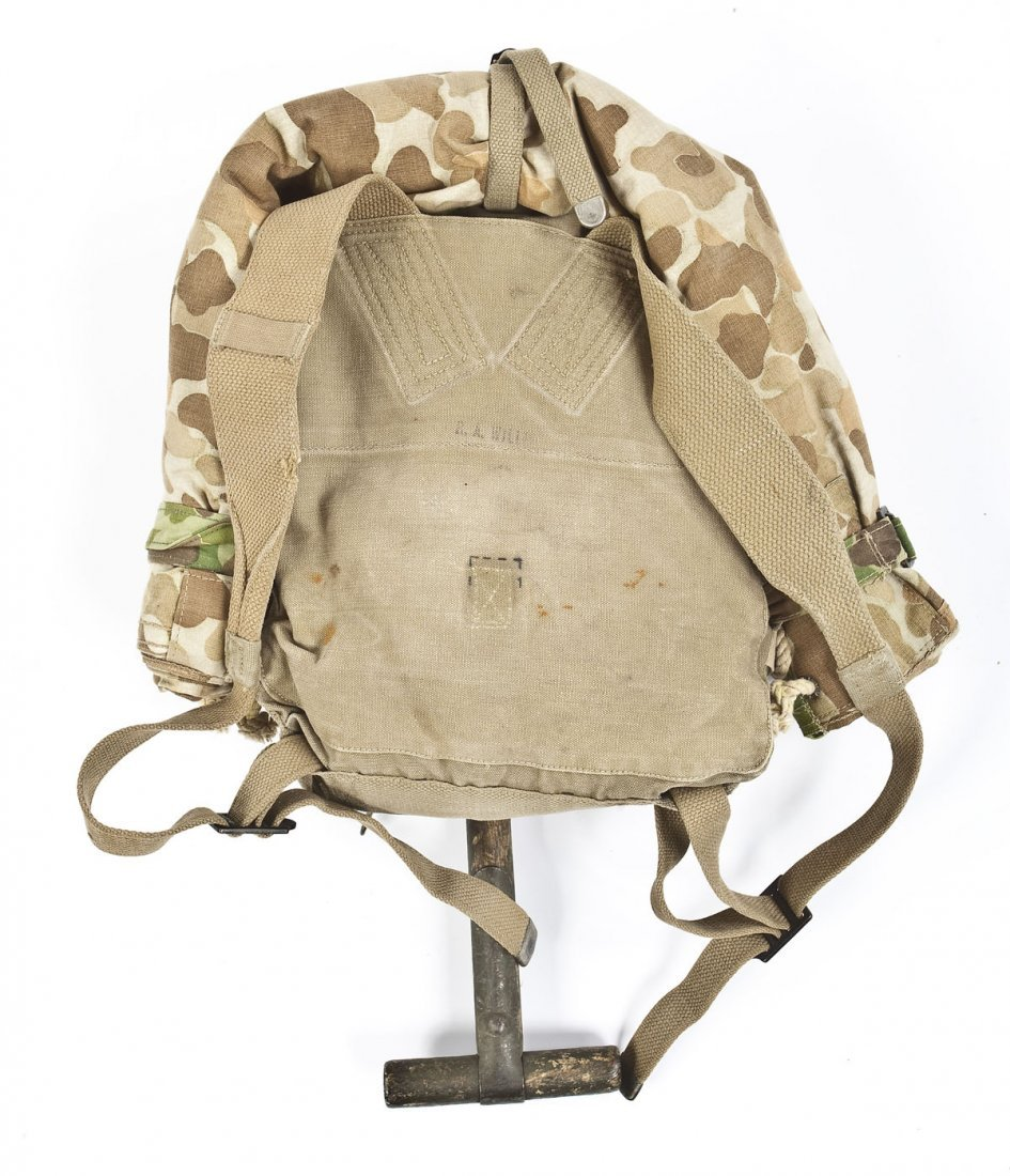 268: WWII Era USMC Backpack - 2