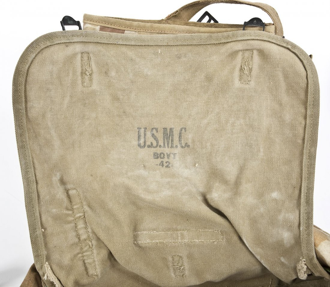 268: WWII Era USMC Backpack - 4