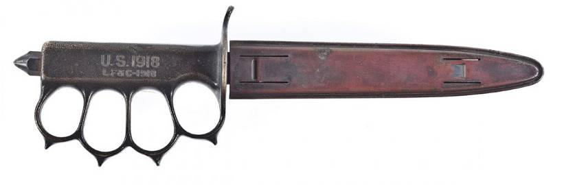 330: US WWI M-1 Trench Knife