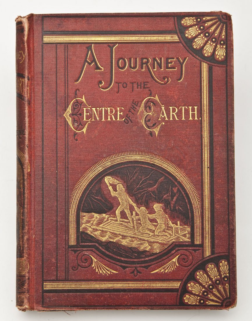 1874 A Journey to the Centre of the Earth