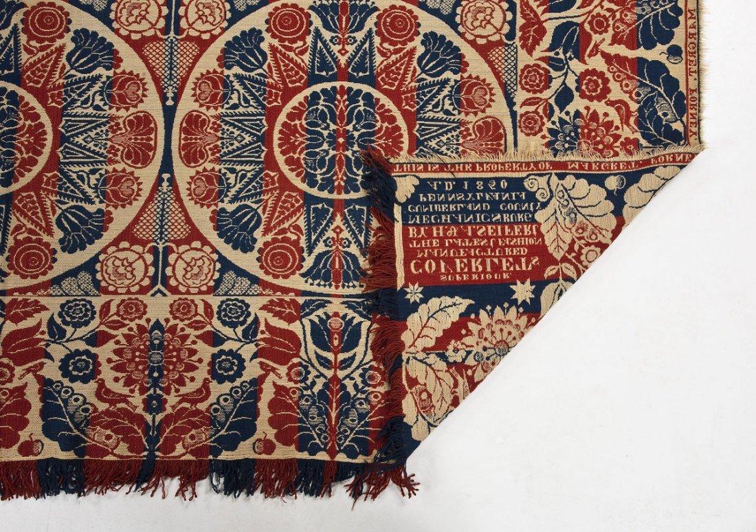 1850 H.& A. Seifert Mechanicsburg Coverlet - 4