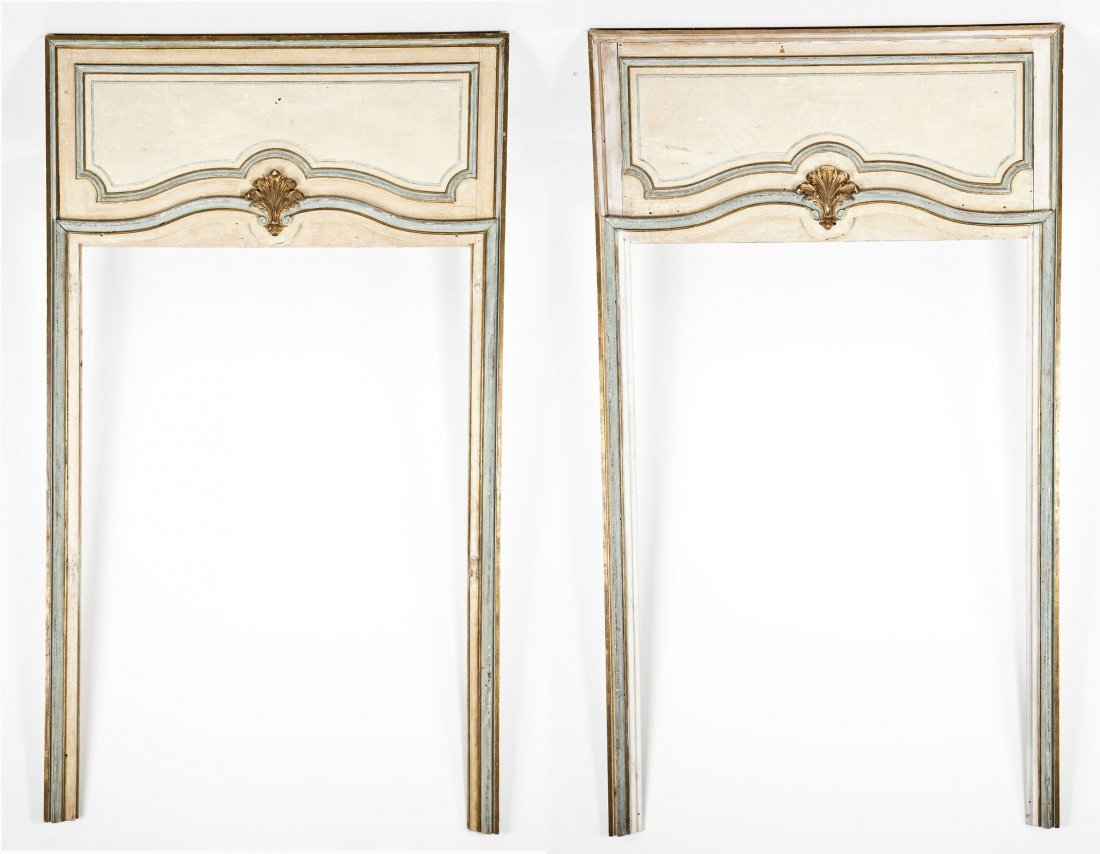 Pair of French Louis XVI Style Door Surrounds
