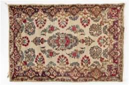 SemiAntique Persian Kerman Area Rug