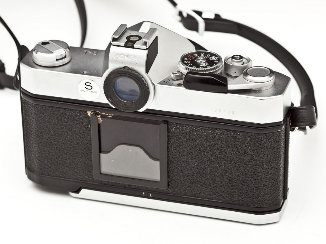 Konica Autoreflex T3 Camera with Konica Case - 3