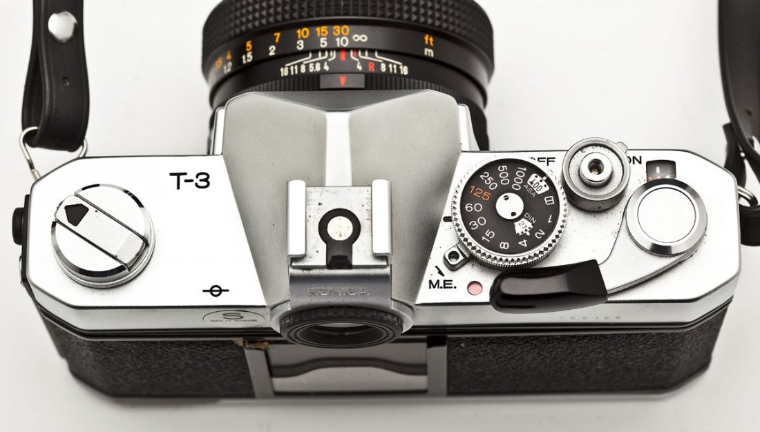 Konica Autoreflex T3 Camera with Konica Case - 4