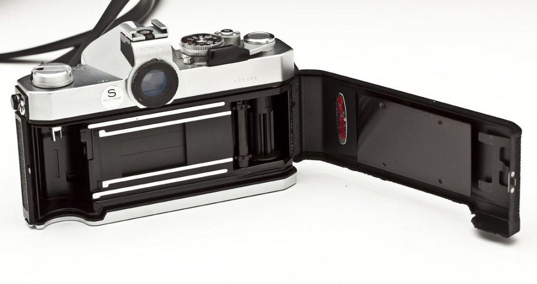 Konica Autoreflex T3 Camera with Konica Case - 5
